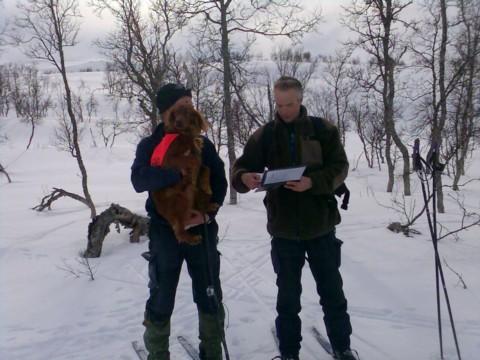 Tore og Era mottar 1. AK-kritikken av dommer Frank Øvrevoll